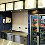 Nostell Plaice Counter and Glass Fridge